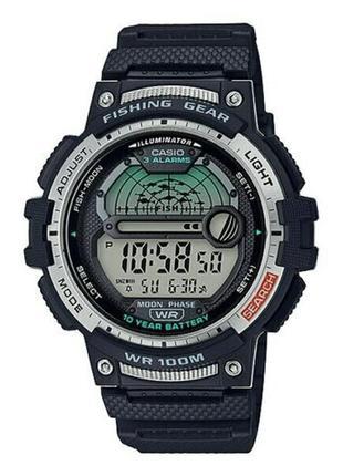 Часы casio fishing ws1200h-1av