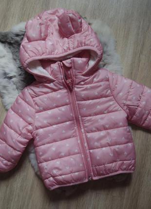 Нова тепла демисизонна куртка з капюшоном