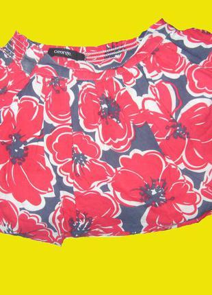 Яркая юбка на 3-4 года,рост 98-104 см,george