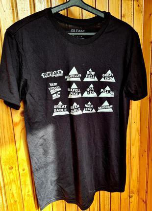 Мужская футболка gildan