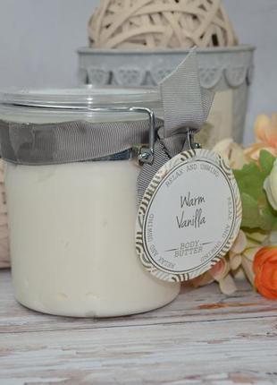 Масло для тела теплая ваниль warm vanilla body butter 500 ml