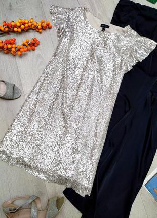 Платье в пайетки