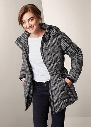 Шикарная, теплая стеганная куртка от tchibo германия размер евро 48 (укр 54)
