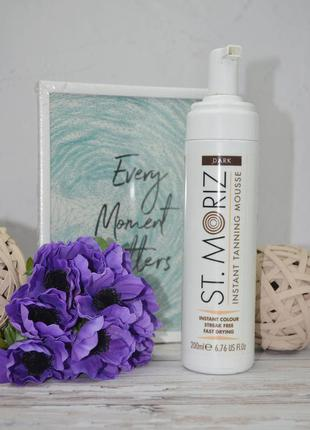 Мусс автозагар для тела st.moriz instant tanning mousse dark 200 ml