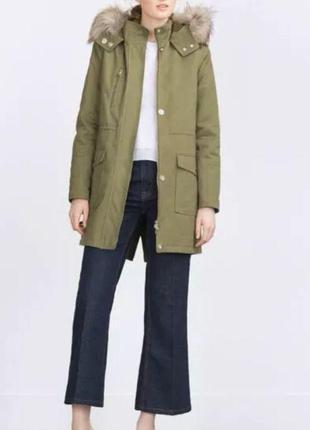 Куртка парка курточка, zara, s
