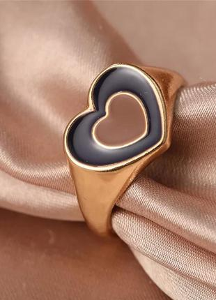 Новинка кольцо сердце колечко сердечки