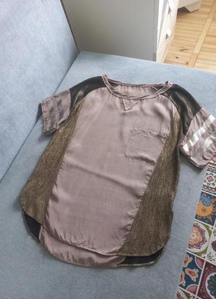 Вискоза шикарная блуза футболка