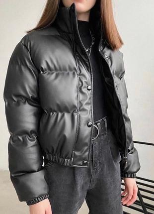 Топовая курточка эко кожа