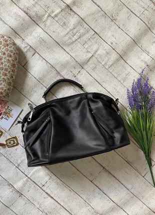 Стильная сумка из качественного кожзама