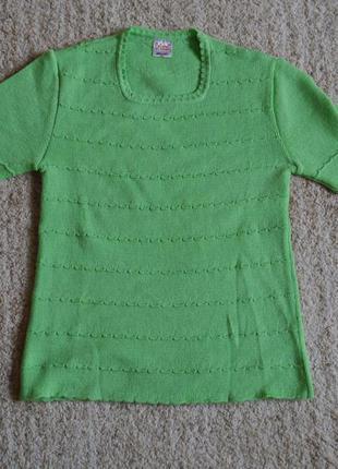 Блуза зелена 44 наш розмір cristall