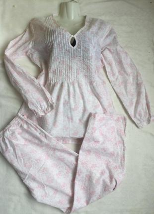 Пижама женская натуральная раз m-l