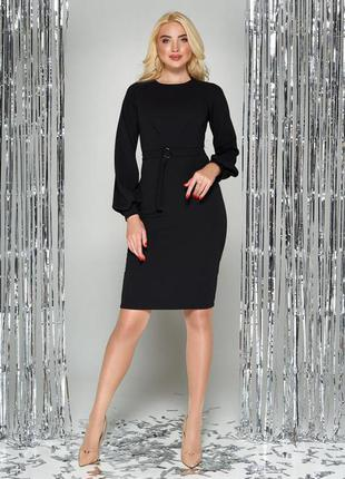 Беспл. доставка стильное платье 3 цвета, р. s - 3xl