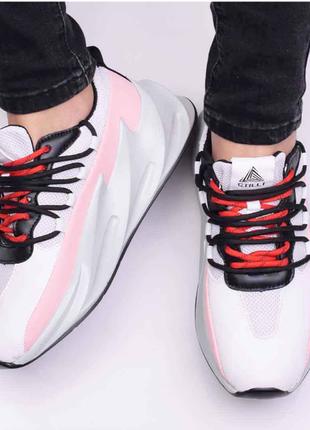 Белоснежные женские кроссовки / лёгкие. стильные / размер один в один