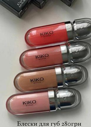 Блеск kiko milano 3d hydra lipgloss