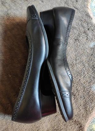 Туфли женские кожаные тlc размер 37/4