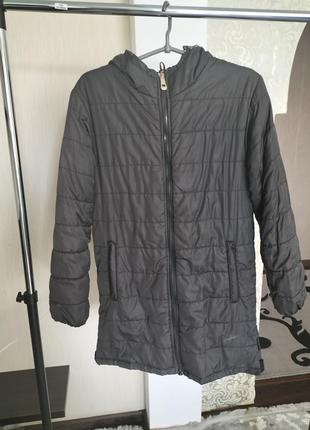 Куртка удленёная зимняя