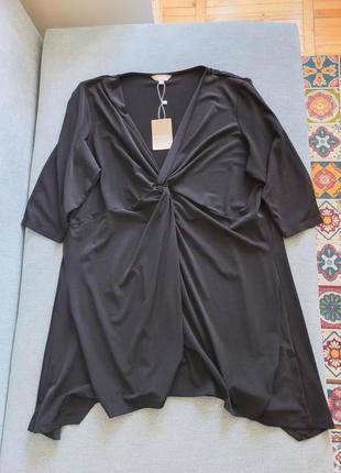 Идеальная блуза туника с узлом очень стройнит