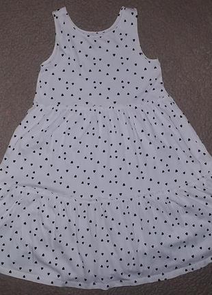 Платье h&m на 8-10 лет состояние нового