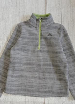 Флисовая кофта 4-5лет 104-110 рост quechua