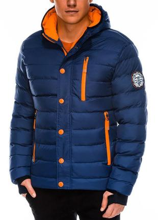 Теплая зимняя стеганная куртка/пуховик