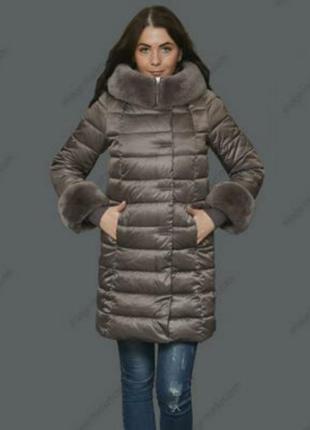 Пуховик куртка на зиму пуховик теплый пальто теплое