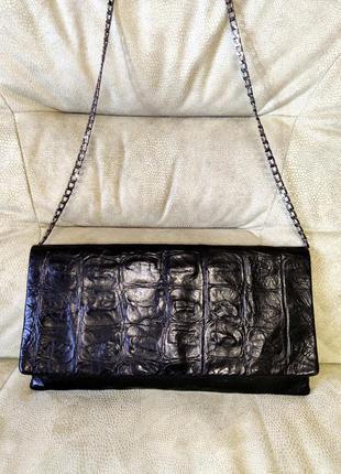 Etui bags англия роскошная кожаная- сумка  клатч