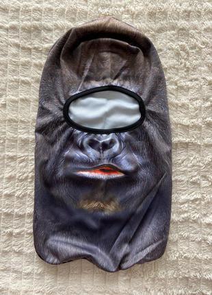 Балаклава, зверомаска, подшлемник обезьяна