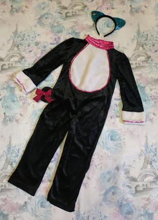 Красивенький карнавальный костюм кошечки ,котёнок, костюм на хэллоуин,кошка,киця