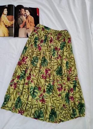 Eastex винтажная плиссированная юбка миди
