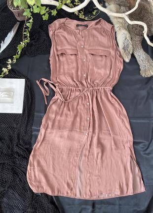 Платье халат, легкое, летний сарафан