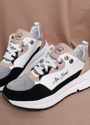 Распродажа натуральная замша кроссовки