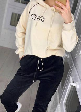 Спортивный женский костюм штаны кофта набор прогулочный