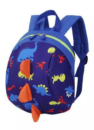 Детский рюкзак динозавр для мальчика 2-4 года