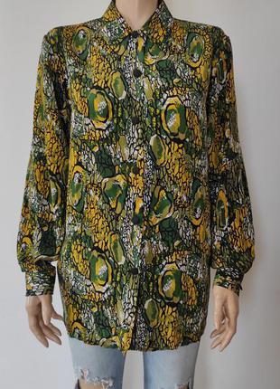 Рубашка шелк в стиле august silk