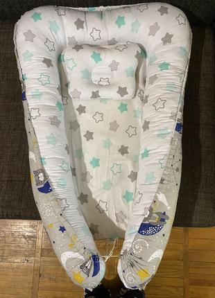 Гнёздышко-кокон для новорожденного