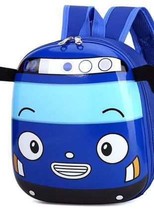 Детский рюкзак автобус тайо для мальчика 3-6 лет