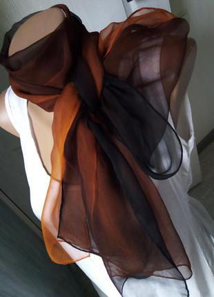 Шарф шёлк градиент шалик шовк