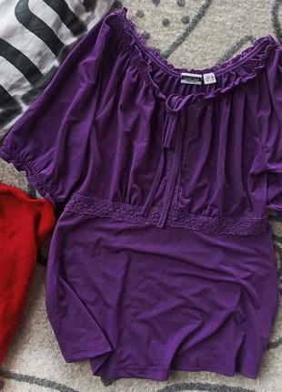 Блуза ластик трикотаж