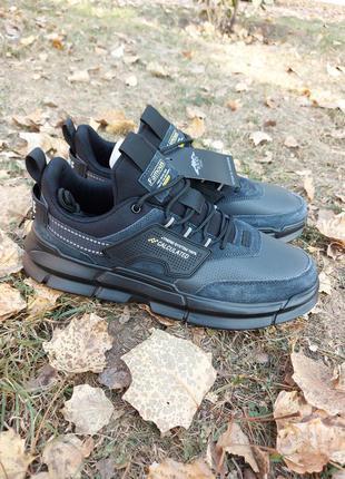 Мужские кроссовки baas ploa кросівки осенние плотные замша