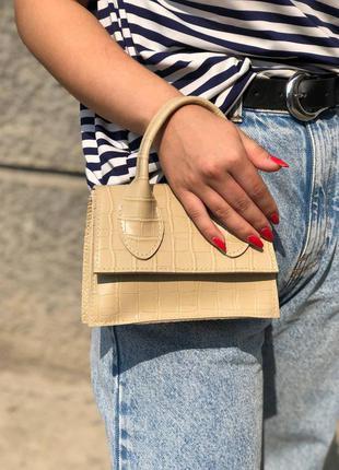 Стильная сумка кросс-боди через плечо клатч