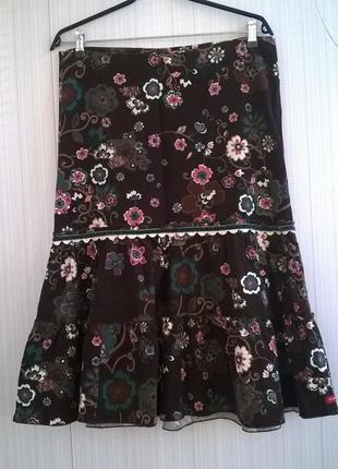 Вельветовая юбка castro trend
