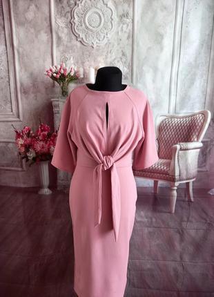 Новое стильное платье миди