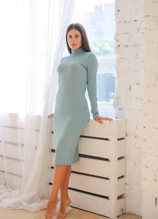 Платье футляр женское миди