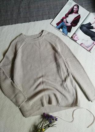 Полувер свитер оверсайз джемпер