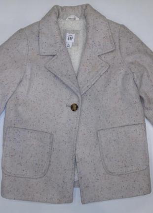 Пальто тёплое / пиджак baby gap