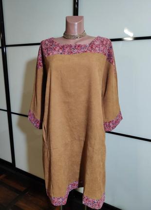 Zanzea вельветовое платье в стиле бохо xxl