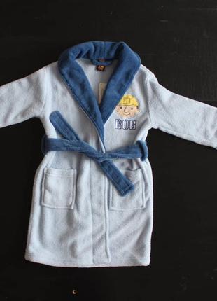 Дитячий флісовий халат фірми bob builder