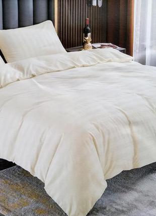 Страйп-сатин. євро розмір. комплект постільної білизни. постельное белье.