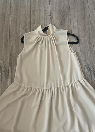 Платье нюд