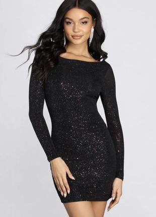 Victoria's secret top shop sparkly dress коктейльное платье